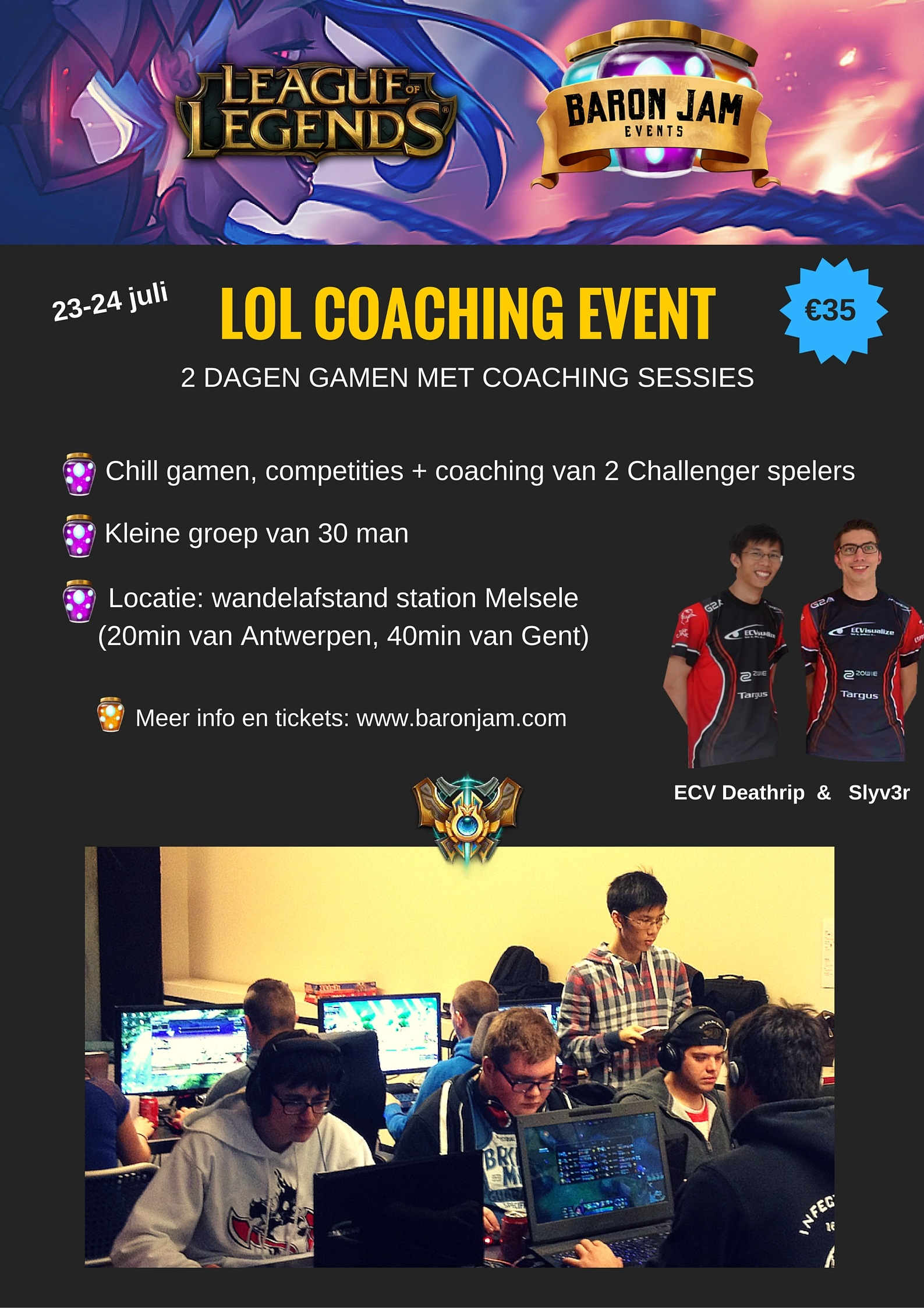 LAN met LoL coaching - Lanparty Europe